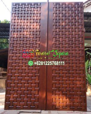 Pintug Anyaman Tikar Finishing Salak